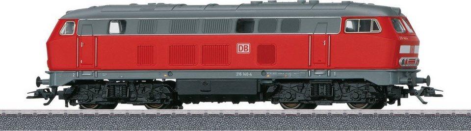 Märklin Diesellokomotive, Spur H0 -- 36218, »Märklin Start up, BR 216 DB AG, Wechselstrom«