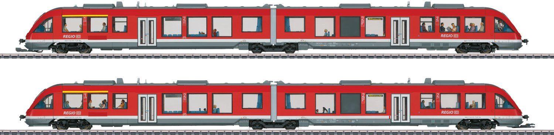 Märklin Triebwagen, Spur H0, »Doppeltraktion LINT DB AG, Wechselstrom - 37719«
