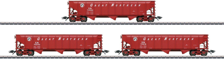 Märklin Güterwagenset, Spur H0, »US Trichterwagen Set NYC, Wechselstrom - 45661«