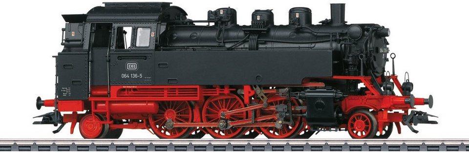 Märklin Dampflokomotive mit Sound, Spur H0, »Tenderlokomotive BR 064, Wechselstrom - 439437«