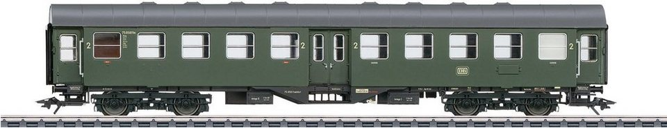 Märklin Personenwagen, Spur H0, »Personenwagen 2.Kl. DB, B4yge, Wechselstrom - 41323«