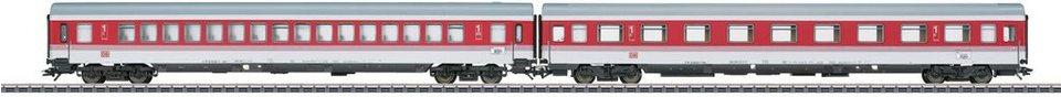 Märklin Personenwagenset, Spur H0 , »EC Set 9 Tiziano DB AG (2 Wagen), Wechselstrom - 43309«