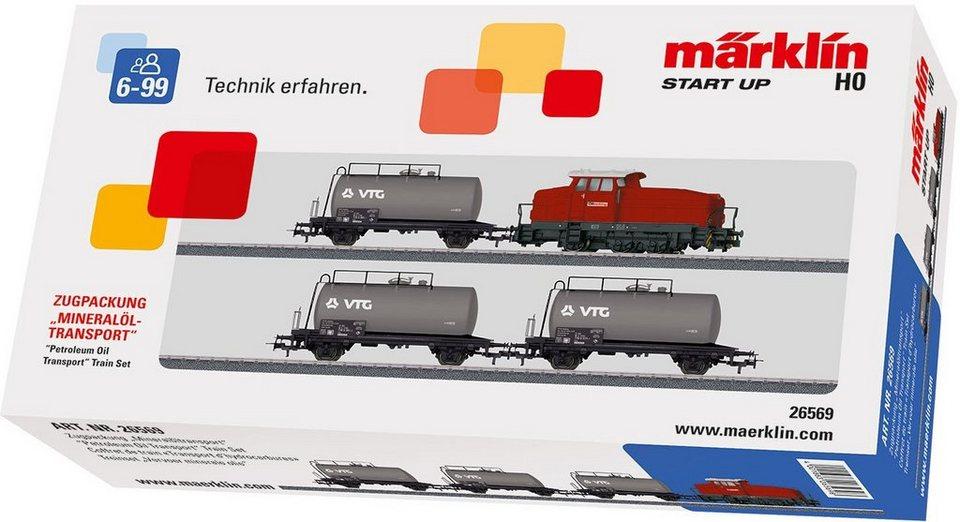 Märklin Zugpackung, Spur H0, »Märklin, Start up, Mineralöltransport, Wechselstrom - 26569«