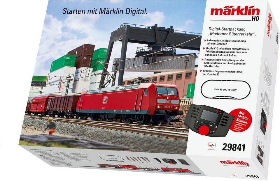 Märklin Digitalset, Spur H0, »Moderner Güterverkehr, DB AG, Wechselstrom - 29841«