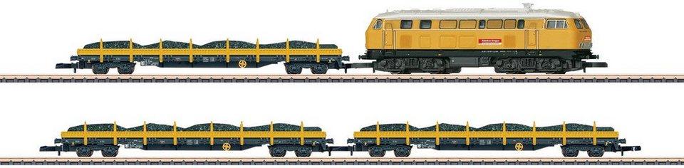 Märklin Zugpackung, Spur Z, »Gleisbauzug DBG, Gleichstrom - 81071«