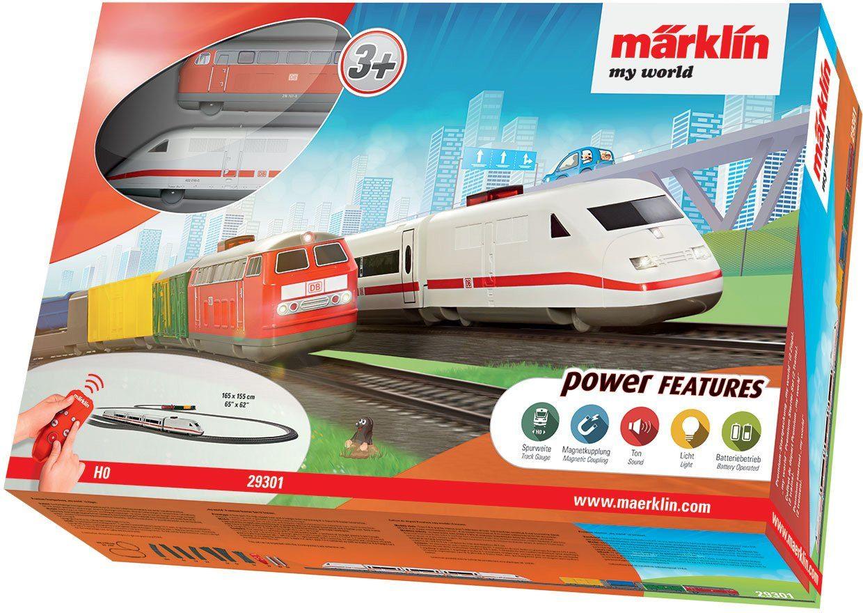 Märklin Spielzeugeisenbahn Premium Startpackung, Spur H0,»Märklin my world mit 2 Zügen - 29301«