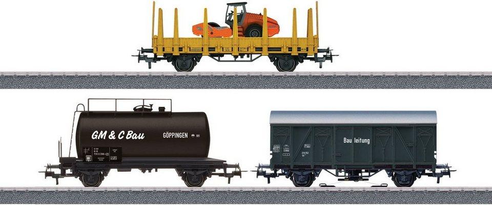 Märklin Güterwagenset, Spur H0, »Märklin Start up, Güterwagenset Baust., Wechselstrom - 44083«
