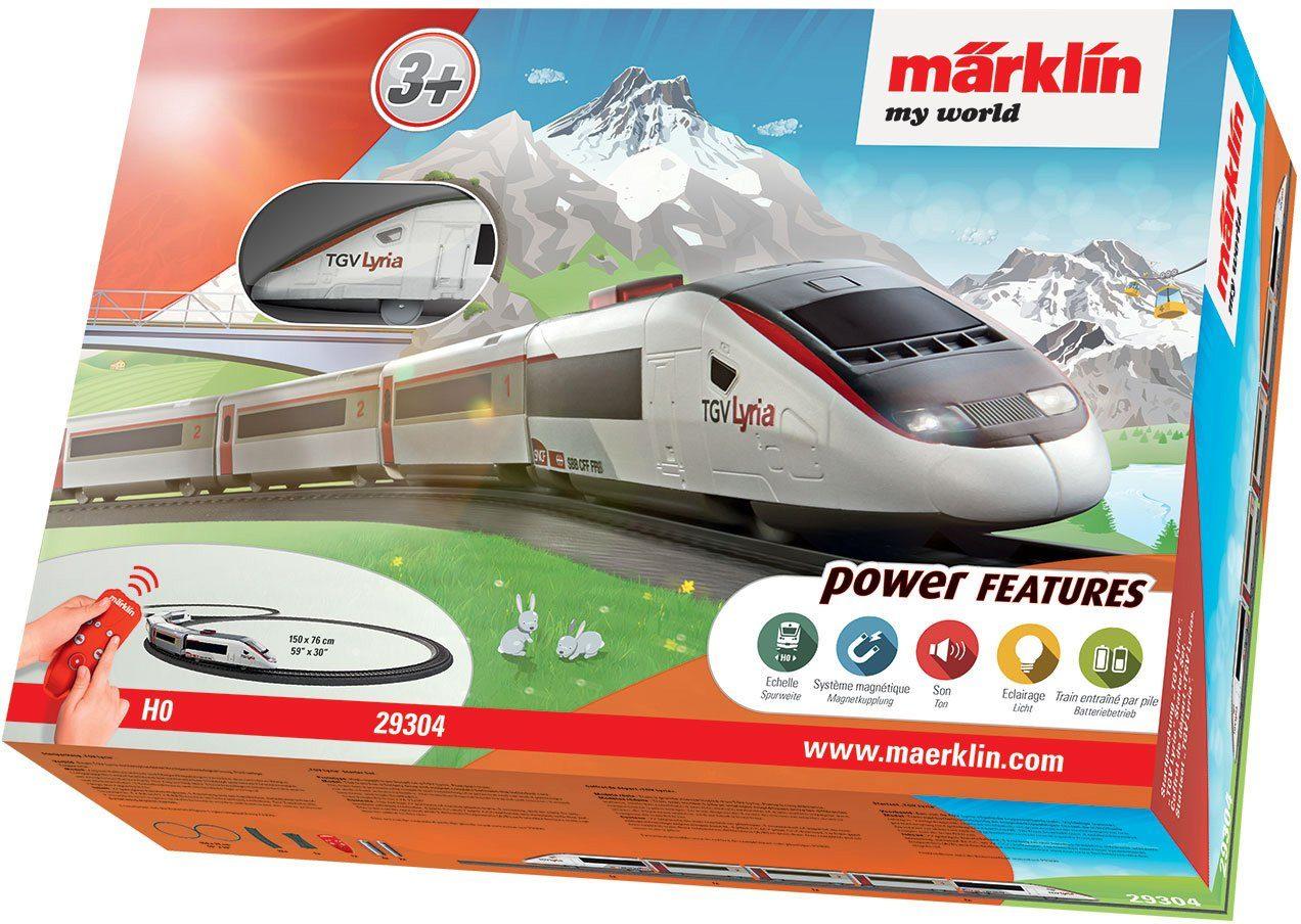 Märklin Mit Licht- und Soundeffekten, »Märklin my world, TGV Lyria - 29304«