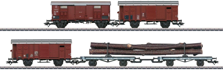 Märklin Güterwagenset, Spur H0, »Güterwagen Set z.Elefant C 5/6, Wechselstrom - 46056«