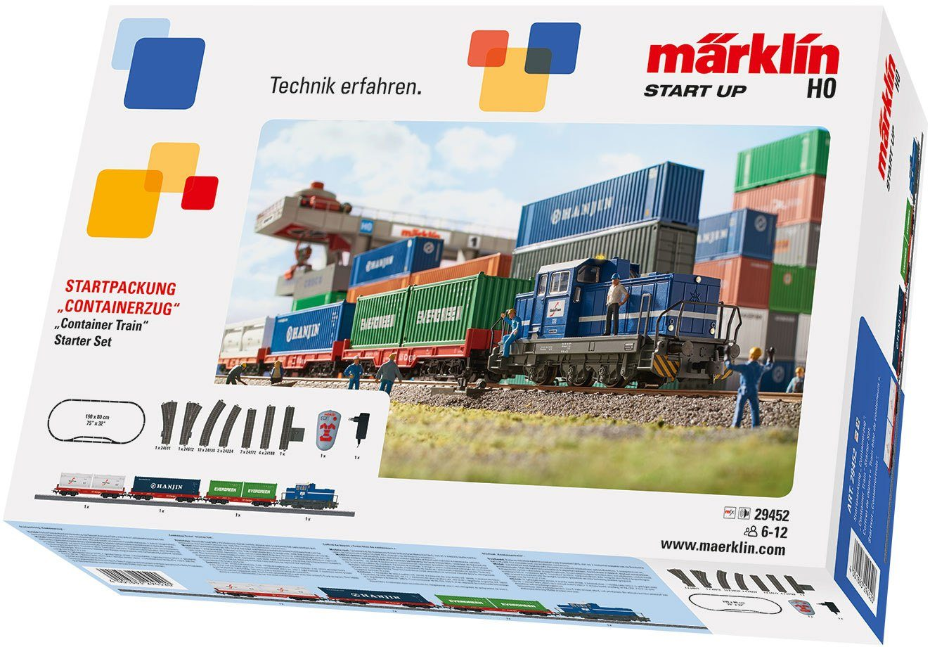 Märklin Digitalset, Spur H0, »Märklin Start up, Containerzug, Wechselstrom - 29452«