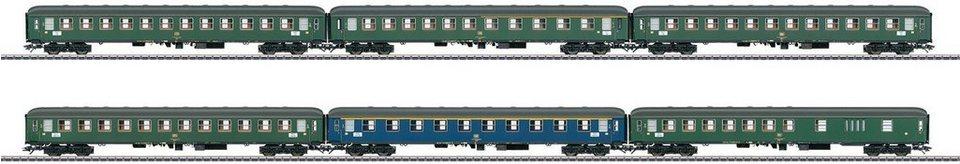 Märklin Personenwagenset, Spur H0, »Schnellzugwagen Set DB, Wechselstrom - 42912«
