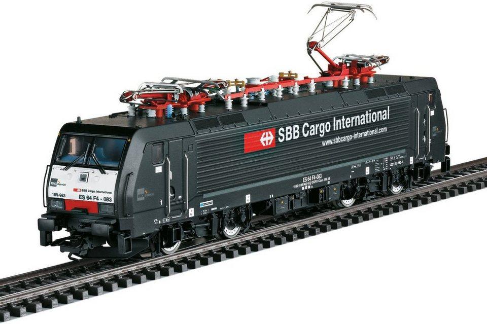 Märklin Elektrolokomotive mit Sound, Spur H0 - 39863, »Elektrolok BR 189 MRCE SBB Cargo, Wechselst