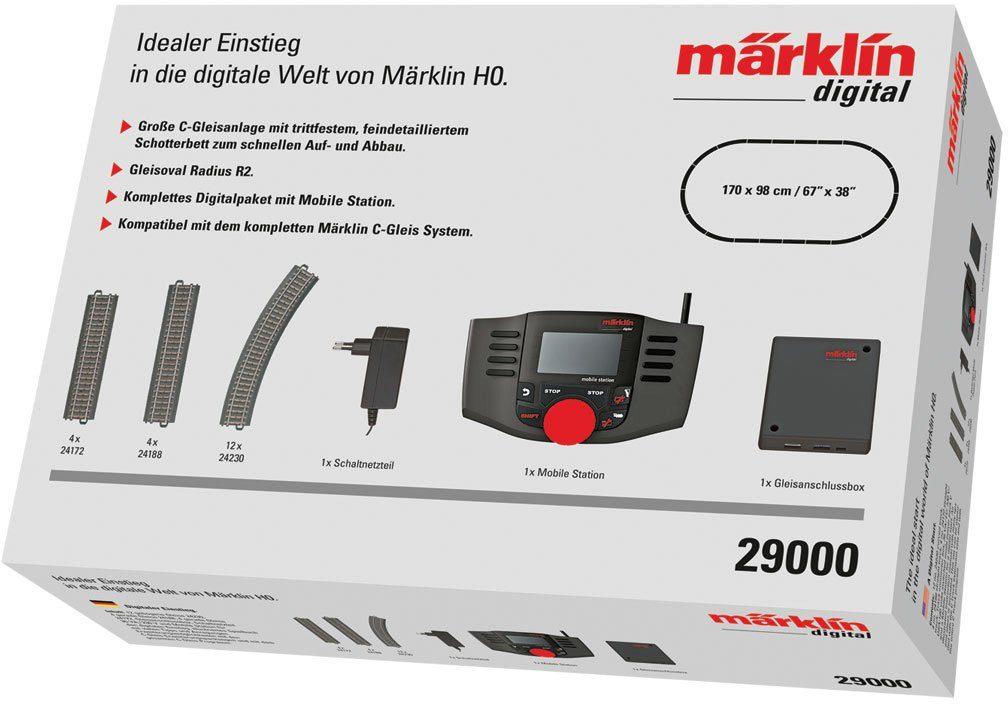 Märklin Digitalset, Spur H0, »Digitale Startpackung MS2, Wechselstrom - 29000«