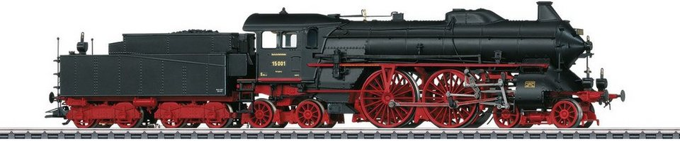 Märklin Dampflok mit Sound, Spur H0, »Schnellzug Dampflok, BR 15 001, DRG, Wechselstrom - 37016«
