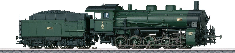 Märklin Dampflokomotive, Spur H0, »Güterzug Dampflok, Gattung 5/5 Bayern, Wechselstrom - 39551«