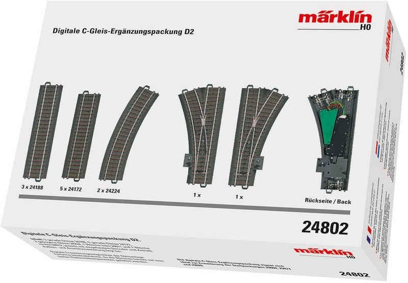Märklin Gleise-Set »Digit. C-Gleis Ergänzungsp. D2, Wechselstrom - 24802«, H0