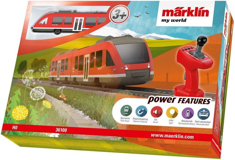 Märklin Spielzeugeisenbahn mit Akku, »Märklin my world, Nahverkehrszug LINT - 36100«