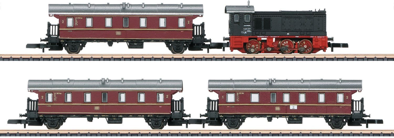 Märklin Zugpackung, Spur Z, »Nahverkehrszug, Gleichstrom - 81770«