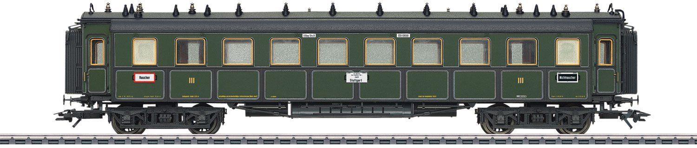 Märklin Personenwagen, Spur H0, »Schnellzugwagen 3.Kl.K.Bay.Sts.B., Wechselstrom - 41358«