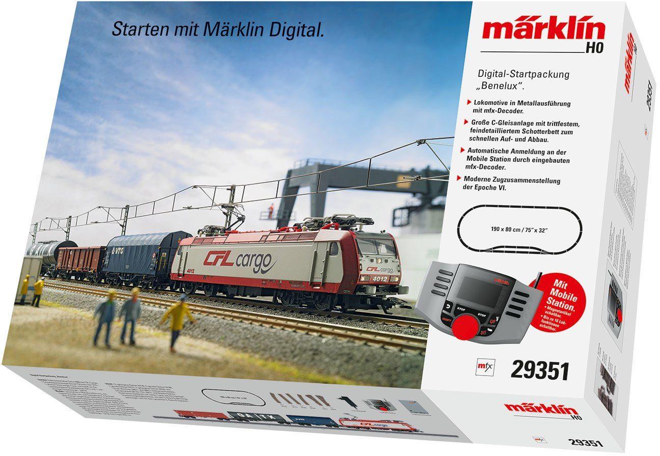 Märklin Einsteigerset, Spur H0, »Digitale Startpackung, Benelux, Wechselstrom - 29351«