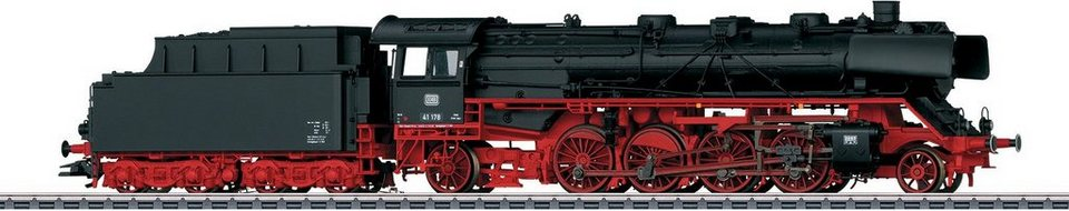 Märklin Dampflok m. Sound, Spur H0, »Güterzug Dampflok m. Schlepptender Baureihe 41 DB - 37923