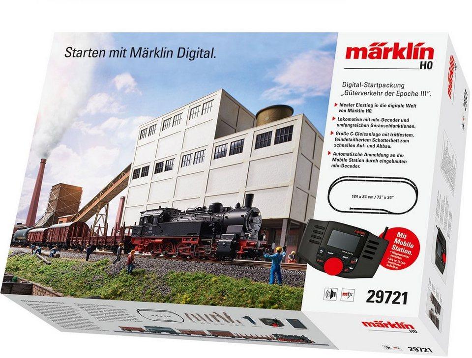 5bbe5af6b417f2 Märklin Modelleisenbahn-Set »Digitale Startpackung Güterverkehr ...