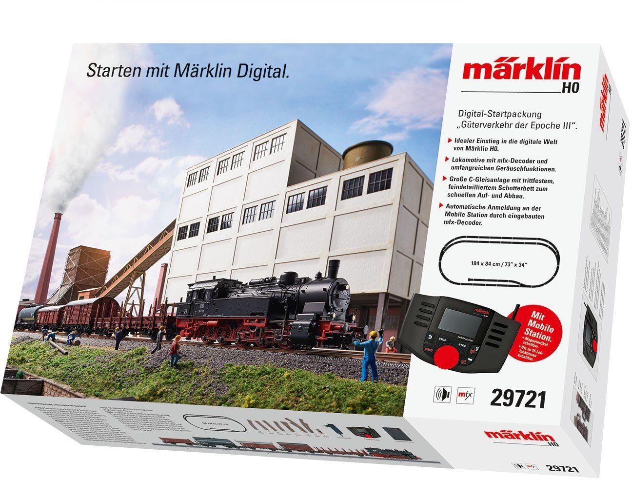 Märklin Einsteigerset, Spur H0, »Digitale Startpackung Güterverkehr, Wechselstrom - 29721«