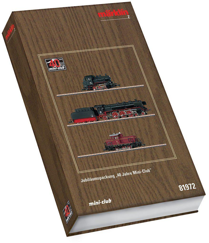Märklin Startpackung, Spur Z - 81972, »Jubiläumspackung, 40 Jahre Mini Club, Gleichstrom«
