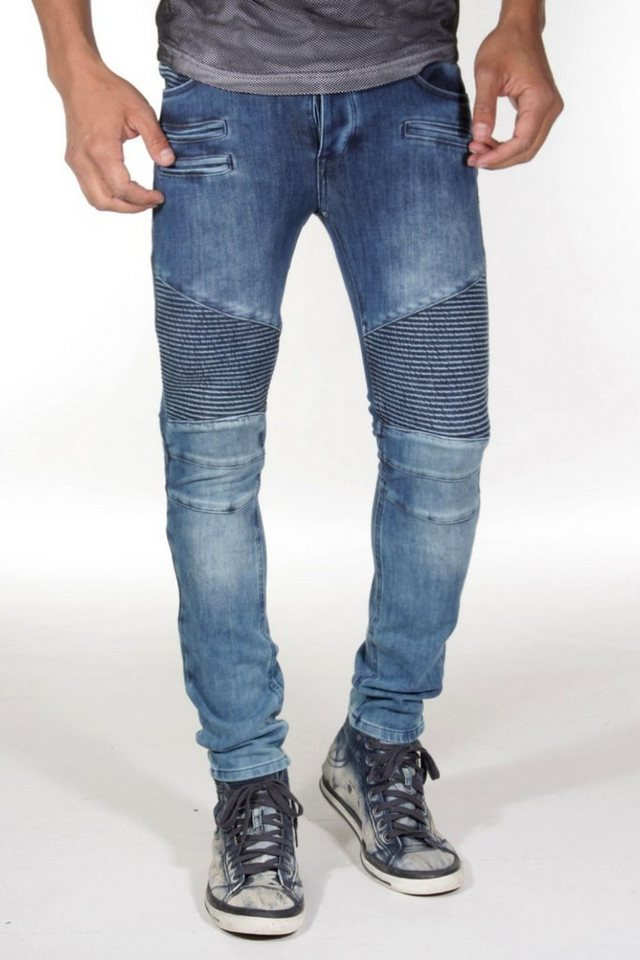 Bright Jeans Stretchjeans skinny fit in blau