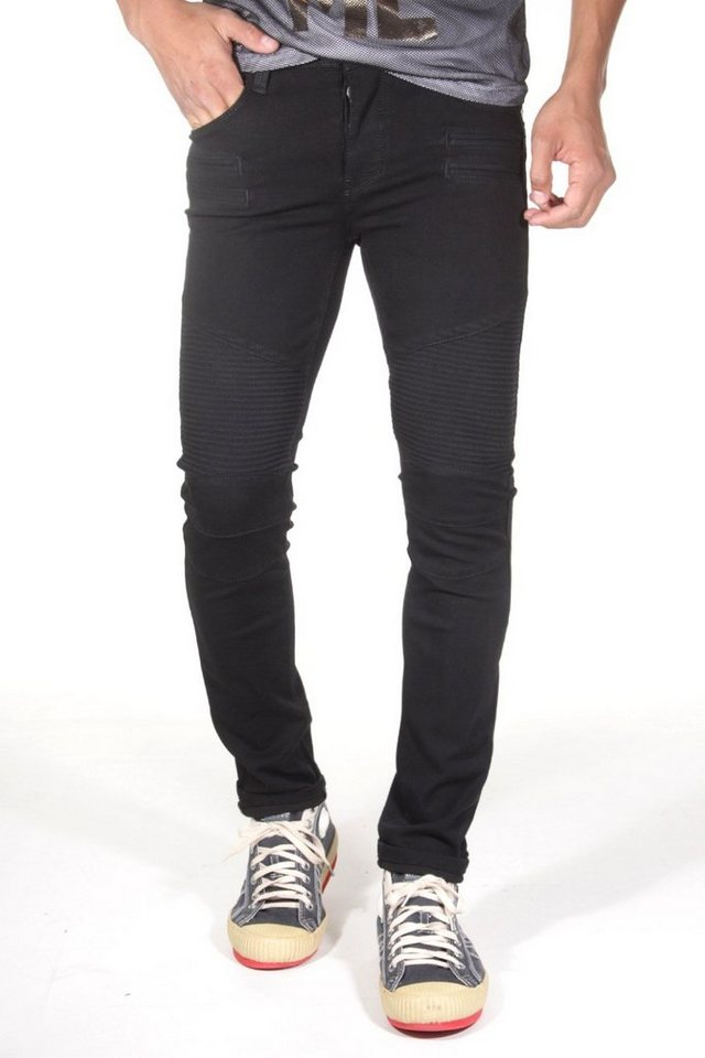 Bright Jeans Stretchjeans skinny fit in schwarz