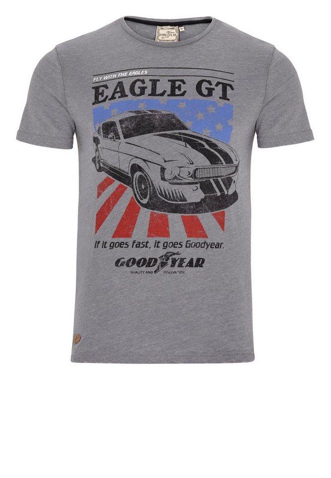 Goodyear T-Shirt »MAXWELL« in Grey