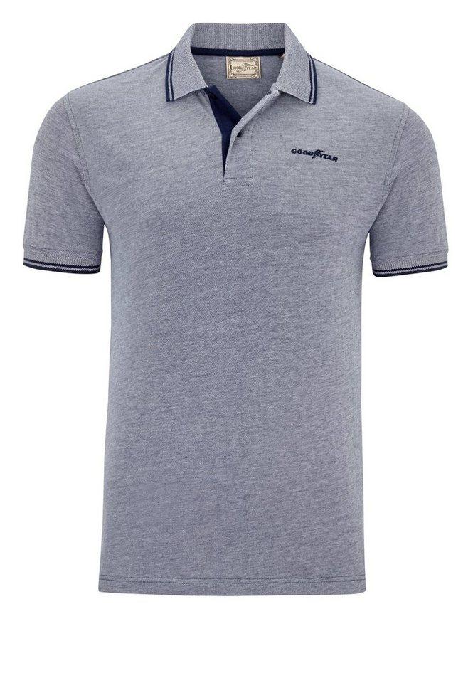 Goodyear Poloshirt »SEBRING« in Stoner