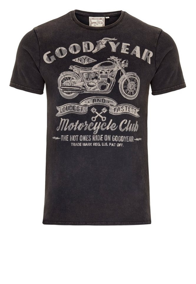 Goodyear T-Shirt COLLINS »COLLINS« in Black