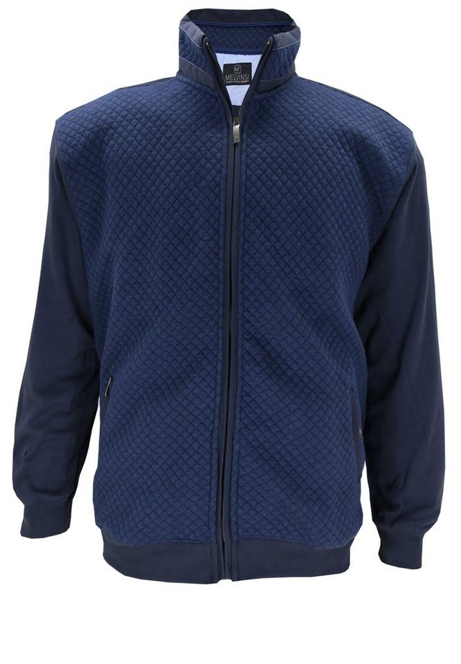 melvinsi fashion Sweatjacke in Marineblau