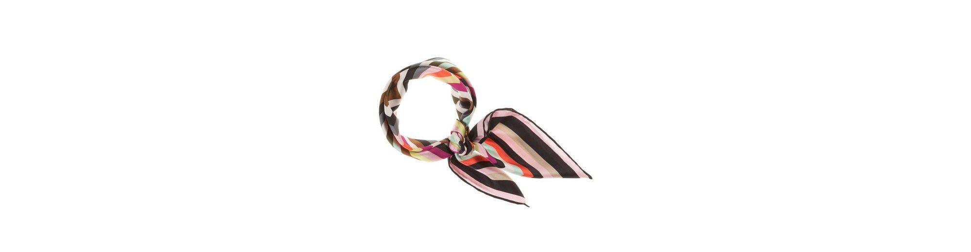 CODELLO Seiden-Twill mit Regenbogen-Muster