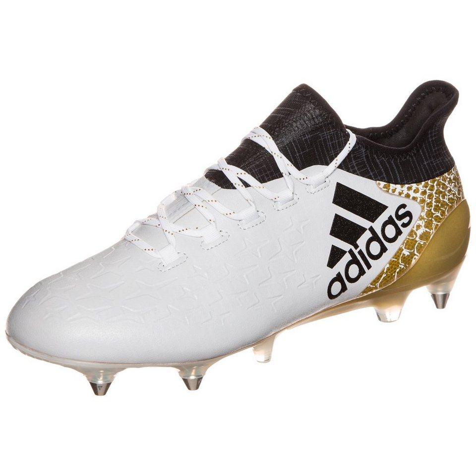 adidas Performance X 16.1 SG Fußballschuh Herren in weiß / gold