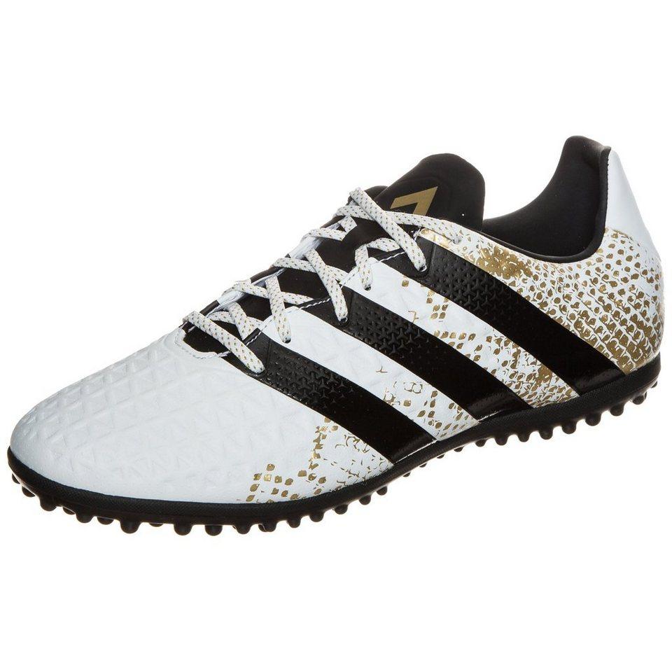 adidas Performance ACE 16.3 TF Fußballschuh Herren in weiß / gold