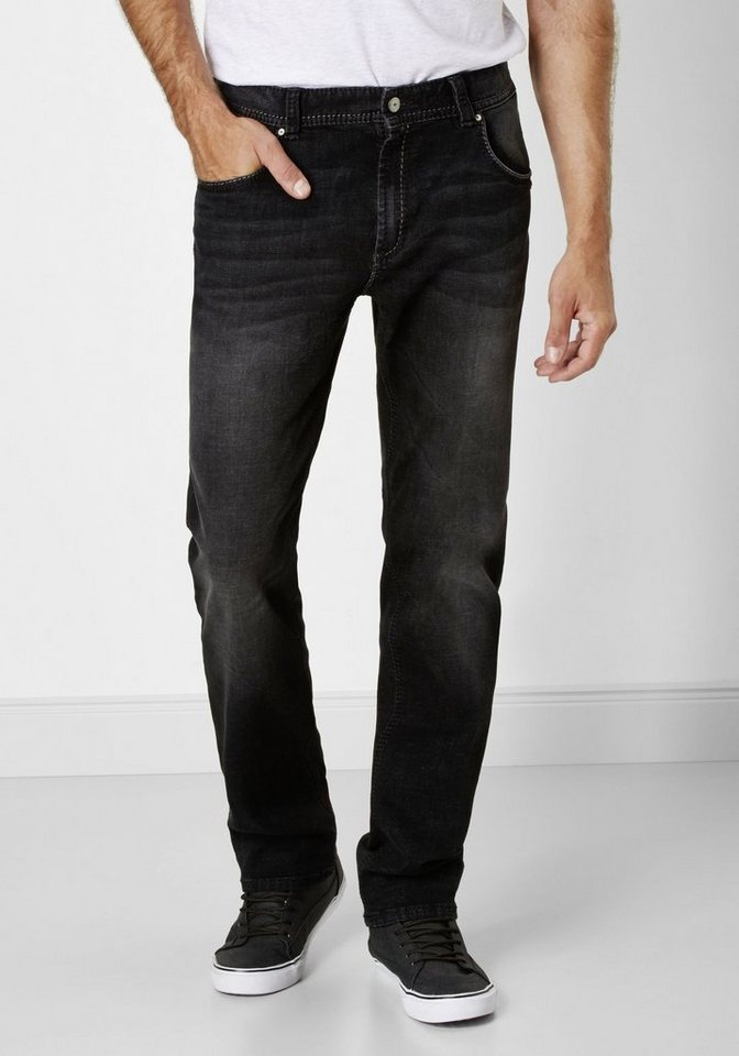 Redpoint 5-Pocket Stretch Jeans »Barrie« in medium stone used