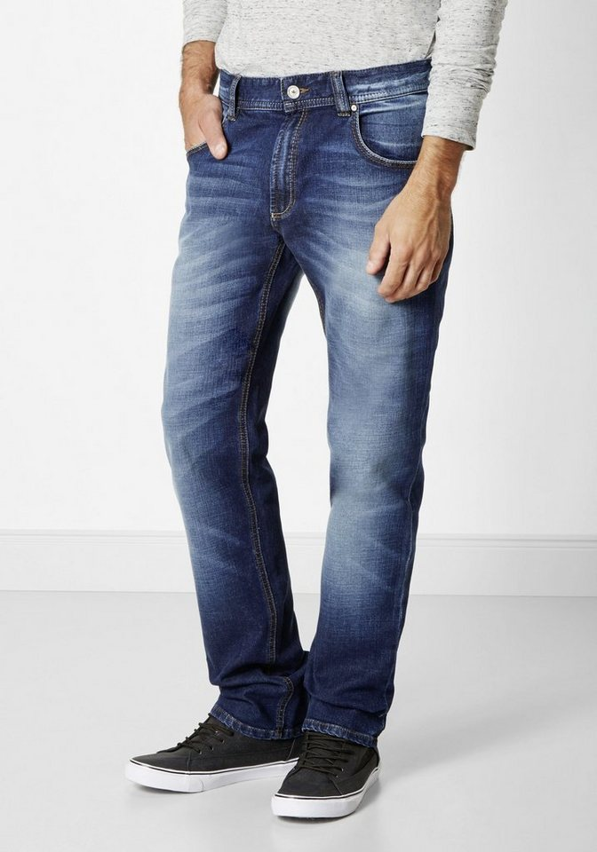 Redpoint 5-Pocket Stretch Jeans »Kanata« in dark stone used