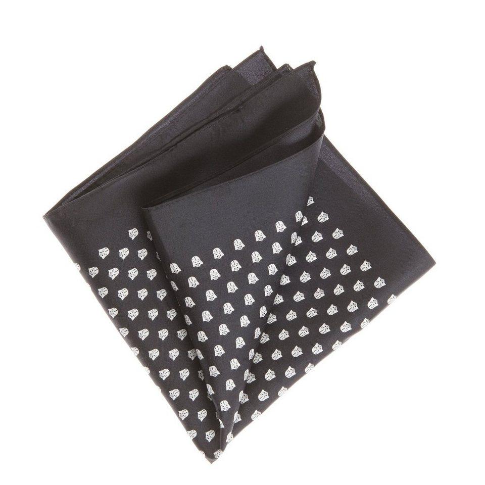 CODELLO Seiden-Twill mit StarWars-Motiv in schwarz