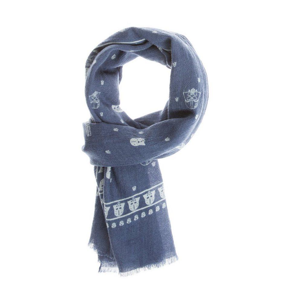 CODELLO Woll-Schal mit StarWars-Muster in marine