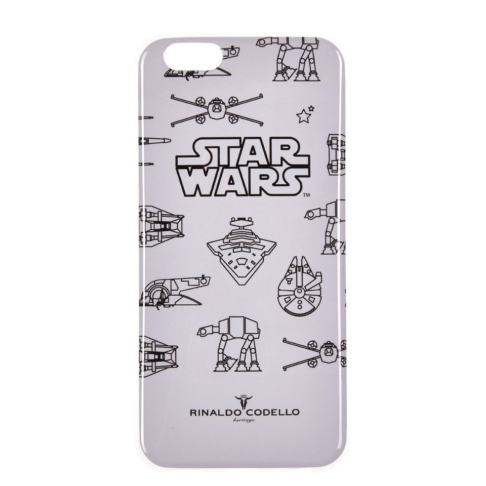 CODELLO iPhone Case mit StarWars-Motiv in hellgrau