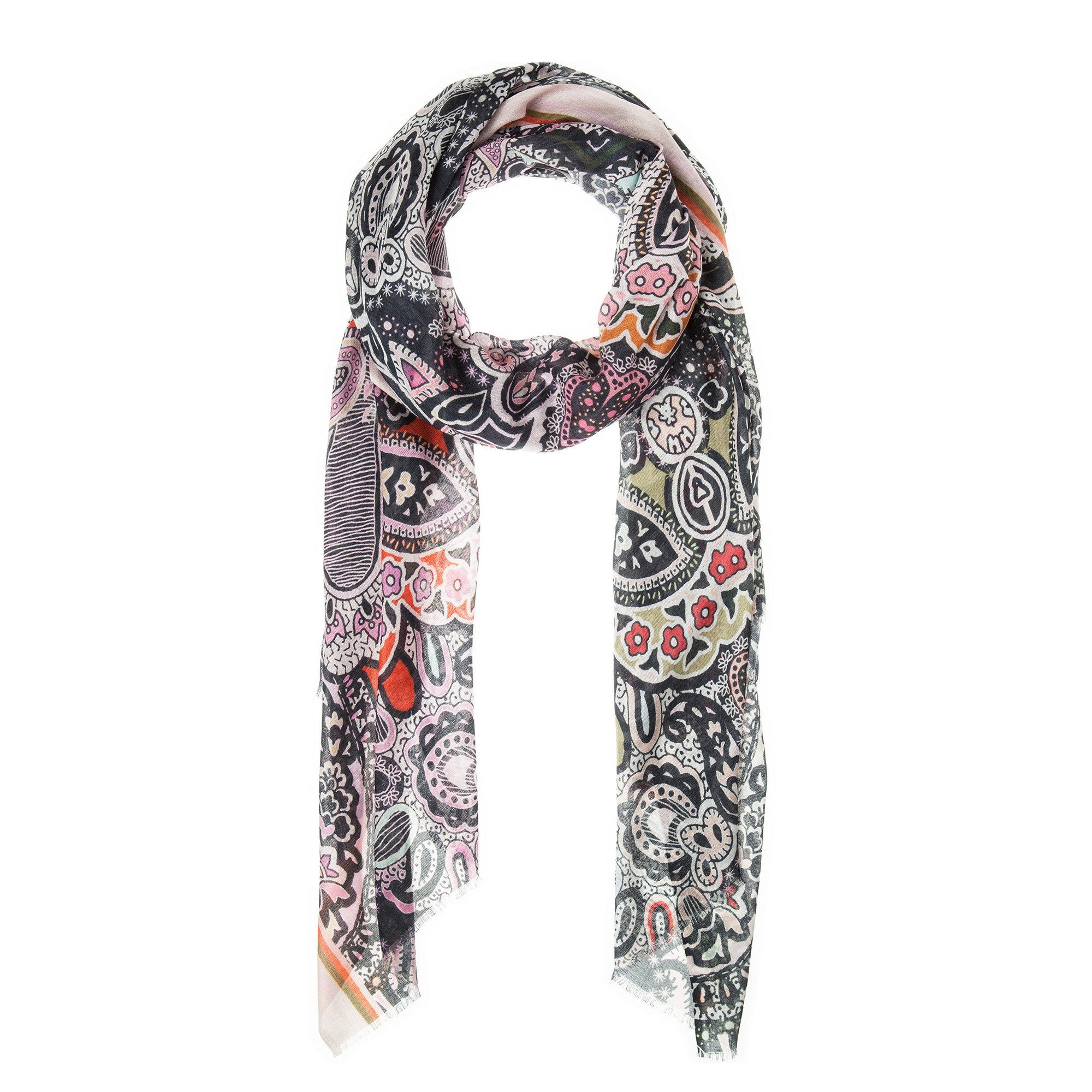 CODELLO Schal mit Paisley-Muster