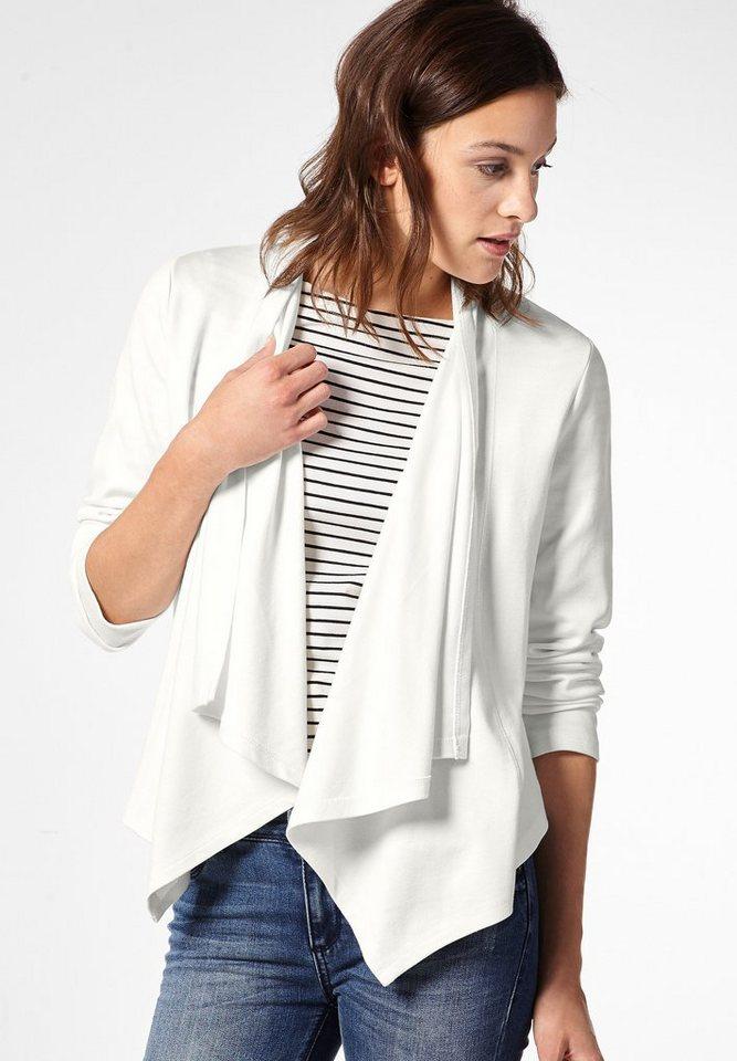 Street One Offene Shirtjacke Hilda in off white
