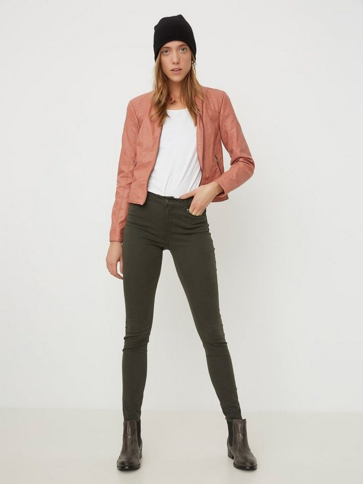 Vero Moda Seven NW Smooth Skinny Fit Jeans in Peat