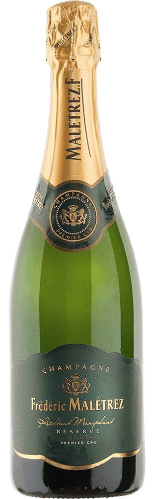 Champagner aus Frankreich, 12,5 Vol.-%, 75,00 cl »Champagne Brut Réserve 1er Cru«