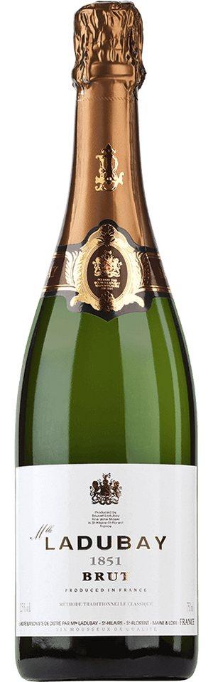 Schaumwein aus Frankreich, 12,5 Vol.-%, 75,00 cl »Mlle Bouvet Brut 1851«
