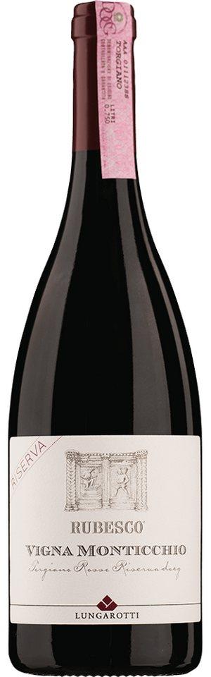 Rotwein aus Italien, 14,0 Vol.-%, 75,00 cl »2008 Rubesco Vigna Monticchio«