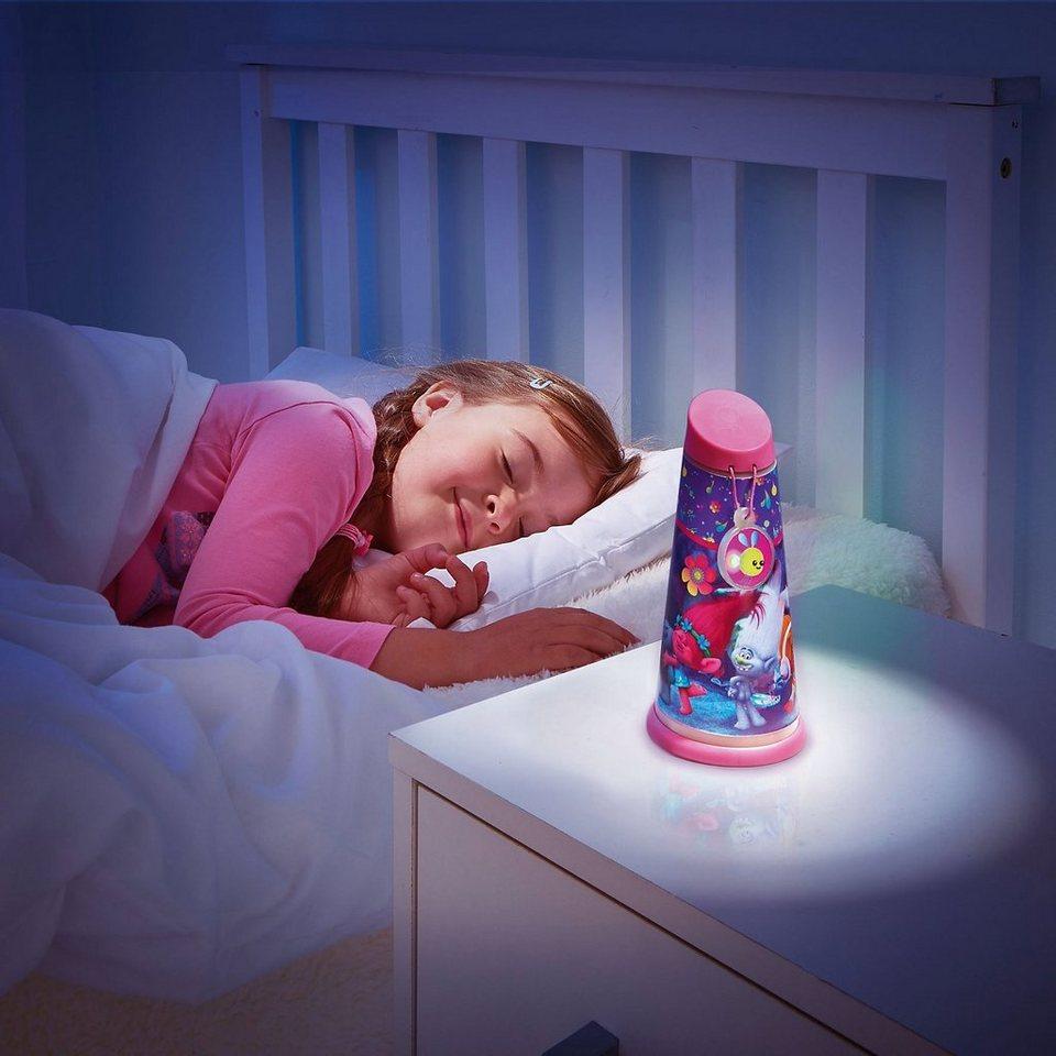 WORLDS APART Nachtlicht und Taschenlampe, Trolls in pink