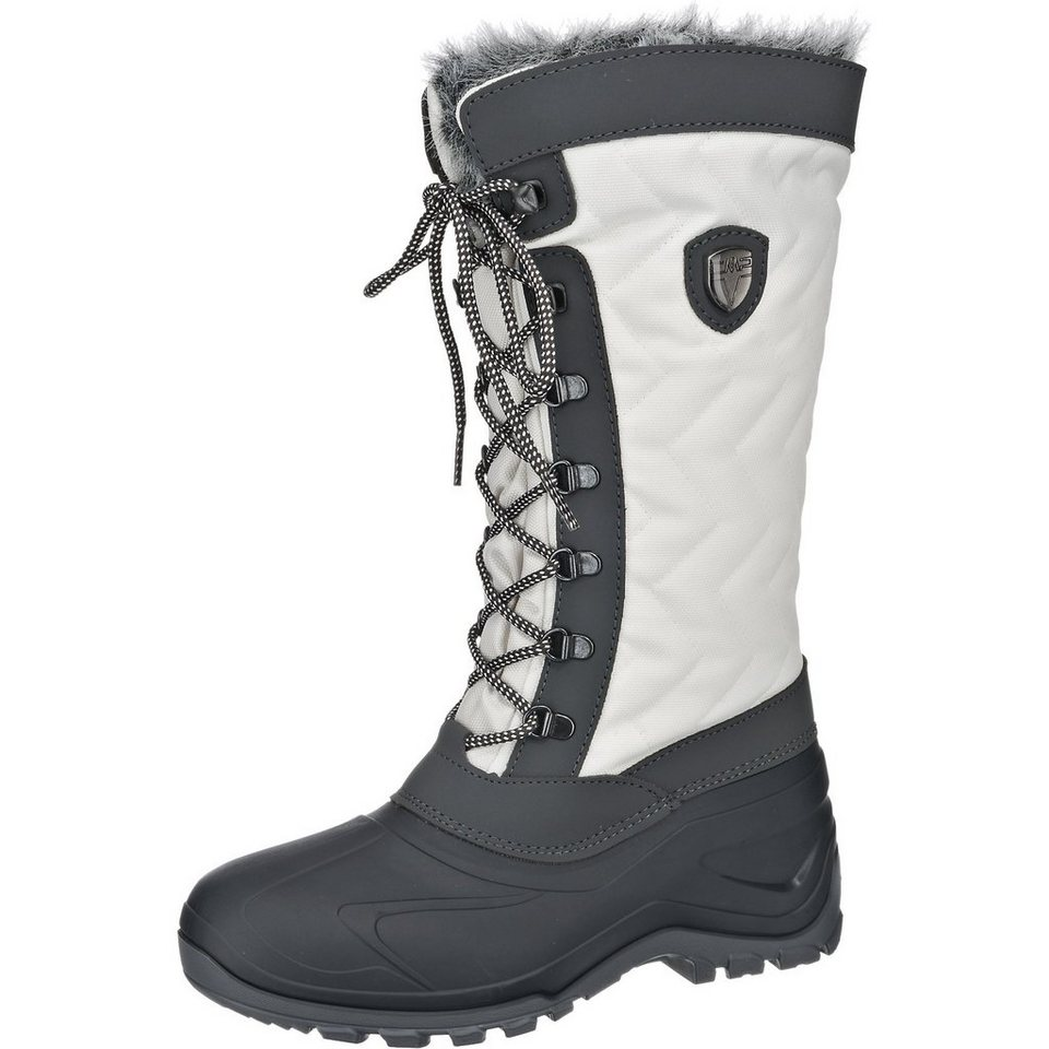 CMP Nietos Snow Stiefel in weiß-kombi